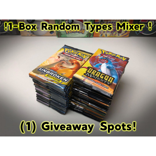 1-Box Random Types! (UB/DM) #4