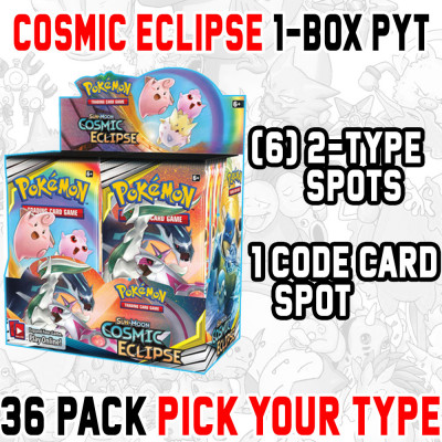 Cosmic Eclipse 1-Box (Pick your type) #11