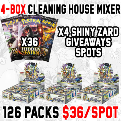 4-Box Cleaning House Random Types #4 (HF/DL)